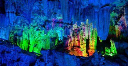 غار رنگی رید فلوت چین