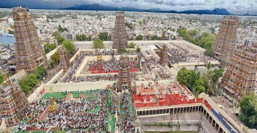 معبد میناکشی در هند