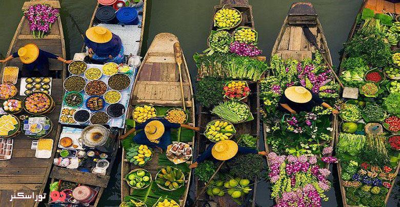 بازار شناور تایلند
