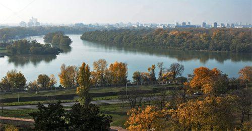 رودخانه دانوب در بلگراد