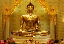 Photo of مجسمه بودای طلایی بانکوک