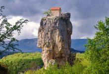 Photo of کلیسای صخره ای گرجستان