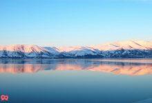 تصویر دریاچه سوان در ارمنستان ( Lake Sevan )