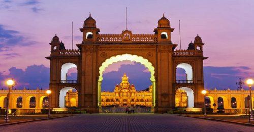عکس قصر میسور هند