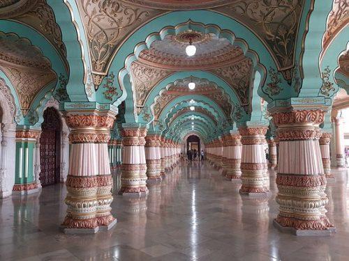 عکس کاخ میسور هند