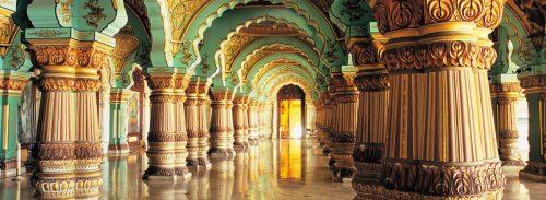 کاخ میسور در هندوستان