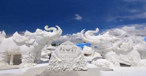 جنگل یخ سیام تایلند