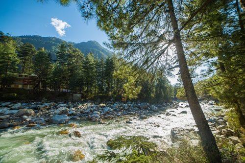 رودخانه پارواتی هند؛ روستای کازول