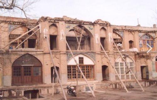 بازار سعدالسلطنه قزوین