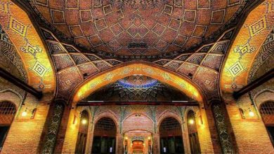تصویر کاروانسرای سعدالسلطنه قزوین