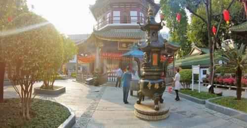 معبد شش درخت انجیر چین