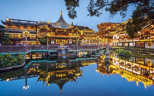 تصاویر باغ یویوان شانگهای