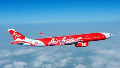 تصویر شروع پروازهای ایر آسیا