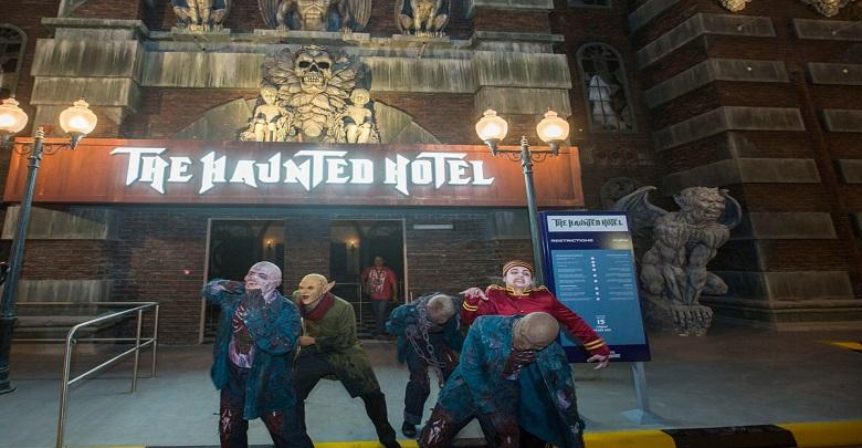 هتل وحشت دبی