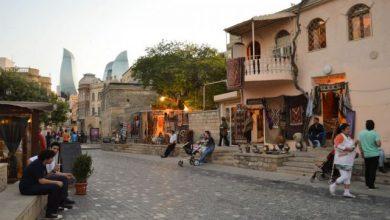 تصویر شهر قدیمی باکو