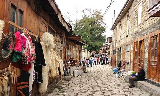 روستای لاهیچ باکو