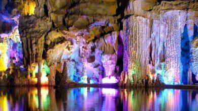 Photo of غار رید فلوت، رنگی ترین غار جهان