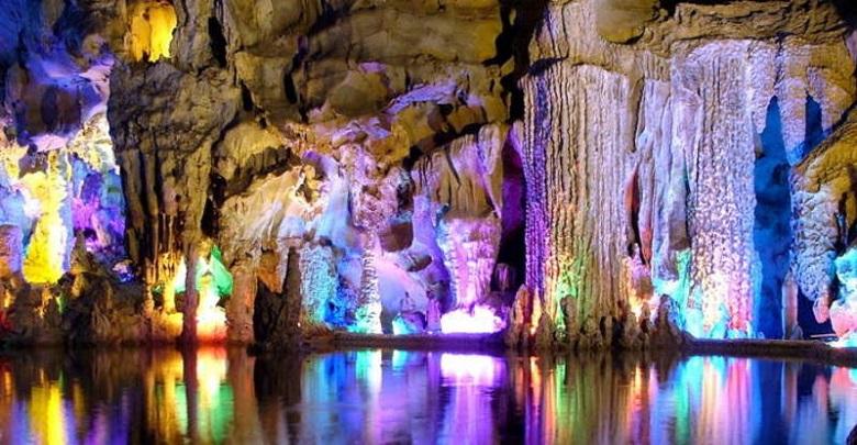 غار رنگی فلوت در چین