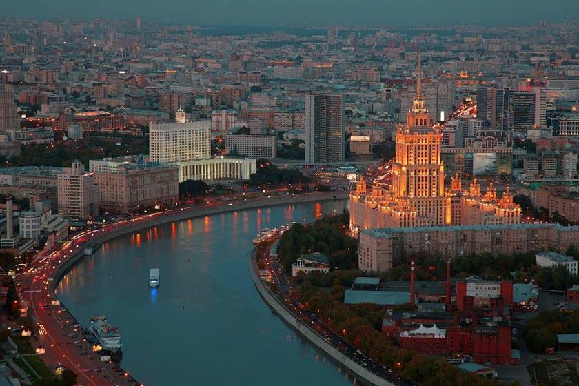 گردش در مسکو
