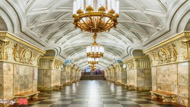 تصویر نقشه مترو مسکو