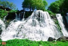 تصویر آبشار شاکی ارمنستان
