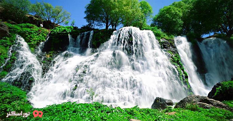 آبشار شاکی ارمنستان