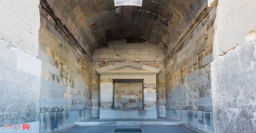 معبد گارنی در کشور ارمنستان