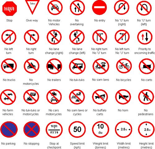 قوانین تایلند
